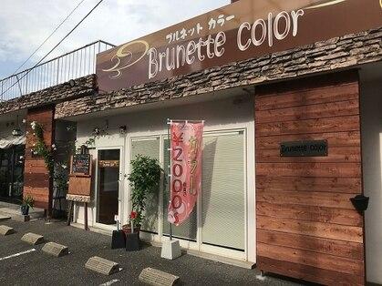 ブルネットカラー(Brunette color)の写真