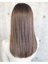 ツミキ ヘアーデザイン(TSUMIKI hair design)シルキーグレージュ×ツヤ髪