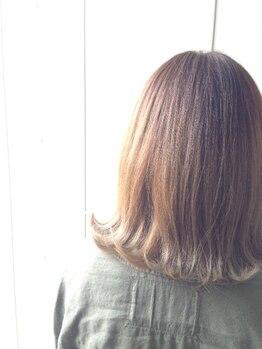 ヘアリゾート リーフ(Hair resort Reef)の写真/クリアな発色!!ライフスタイルに合わせたカラーリングを提供☆