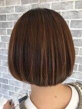ヘアーメイク プリュム(Hair make Plume)ミニボブ