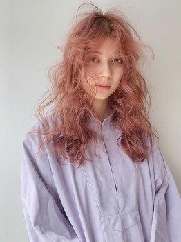 シキ 渋谷(siki)の写真/《* 目を惹かれる透明感 *》肌色・質感まで見違える、オーダーメイドカラー。[原宿/表参道/ハイライト]