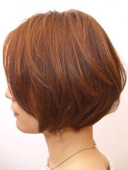 """イデー ヘアサロン(idee Hair Salon)の写真/【ショートヘアの鍵は""""美シルエット""""】前髪・トップ・サイドの""""黄金バランス""""を見極めたカットが得意◎"""