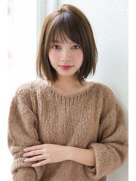 アンアミ オモテサンドウ(Un ami omotesando)【Un ami】 松井幸裕 小顔ナチュラルボブ