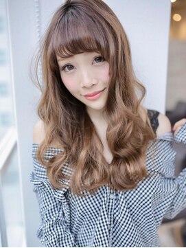 アグ ヘアー ビヨンド 戸塚店(Agu hair beyond)フレンチウェーブのカジュアルロング