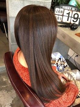 イヤイライケレの写真/大地の恵みを感じるオーガニックメニュー充実!!髪の芯から栄養補給し、つい触りたくなる美しい艶髪に♪