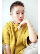 ラフィス ヘアー ロッサ 茨木店(La fith hair rosa)【La fith】 大人女子刈り上げショートスタイル