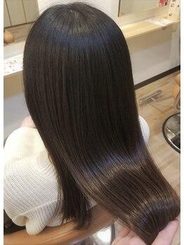 トランクゥイル(TranQuil)の写真/【しなやかで扱いやすい髪に】TranQuilオリジナルメニュー ヘアストレートヒーリングを是非試してみて♪