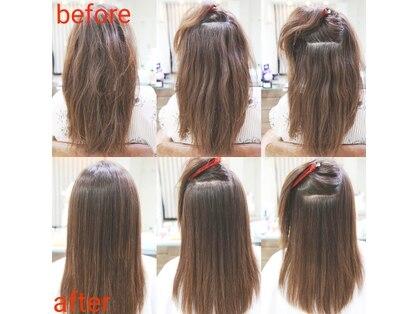 ポルテヘアー(porte hair)の写真