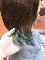 メグル(MEGURU,)手緑髪緑