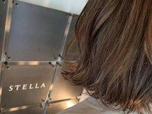 ステララヴェスト(Stella L'ovest)の雰囲気(ハイライトを入れた3Dカラーで大人の透明感を※ケアブリーチ可)