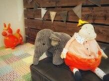 トモリヘアルーム (tomori Hair room)の雰囲気(お子様も楽しくすごせるキッズスペース有。おもちゃもたくさん!)