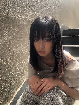 アズーラ 烏山(AZURA)艶髪ストレートヘア