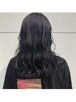 ヘアーアイストゥーレ(HAIR ICI TRE)韓国風艶パープルカラー