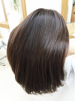 クラップス ヘアデザイン(CLapS hair design)の写真/【発寒南/西町/駐車場あり】少し高いけど傷んだら元に戻せない縮毛矯正だからこそ、クラップスにお任せ!!