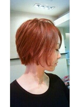 クール ヘアー セッション 本町店(COOL Hair session)秋色大人ボブ