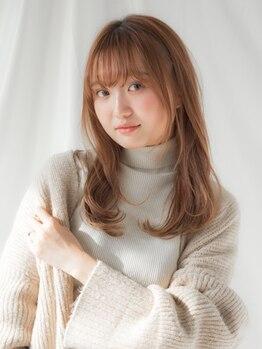 アネーロバイエーケー(ANHELO by AK)の写真/日本人女性の髪のことを想い生まれた、パーソナルヘアケアプログラム《Aujua》取扱いノンダメージサロン。