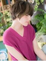 *+COVER HAIR+*…大人女子の厚めバング小顔プレミアムショートa