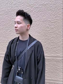 フェードアンドライン 成城学園前店(FADE&LINE)の写真/《【新規限定】CUT¥3,300/CUT&SPA¥5,500》メンズの身だしなみは頭皮から!ニオイや汚れもスッキリ落とす!