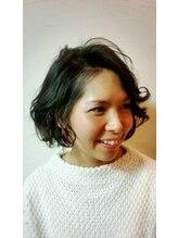 プラスティック プラスヘアーサロン(PLUSTIC +hair salon)ゆるふわボブ