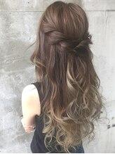 ガルボ ヘアー(garbo hair)