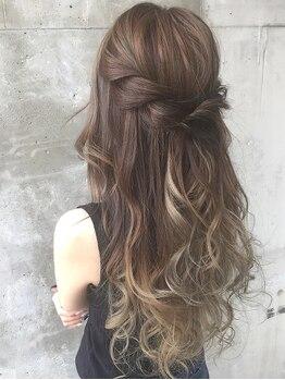 ガルボ ヘアー(garbo hair)の写真/外国人風/グラデーション/インナーカラーetc.透き通るような 『color』で日本人離れした憧れのStyleを創る!