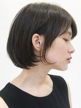 アデオモテサンドウ(ade omotesando)の写真/自然で柔らかな質感に◎今話題の【酸熱トリートメント】がオススメ☆髪への負担を抑えツヤのある仕上がりに