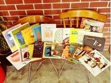 サンズ ヘアーサロン(SAN'S HAIR SALON)の雰囲気(その他のも、大人も子供も楽しめる絵本のセレクトは80冊以上☆)