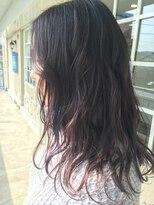フェリーク ヘアサロン(Feerique hair salon)透明感のあるブルーヴァイオレットカラー