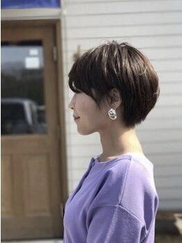 ルーツ(ROOTS hair design)の写真/紫外線ダメージもしっかり補修!髪が持つ本来の状態に整えるから、カラーやトリートメントの持続もUP♪