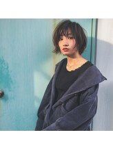 アレッタ ヘア オブジェ(ALETTA HAIR objet)ショートボブスタイル【沖野紘大】