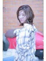 【Charme】日紫喜清矢 ミディアム 外ハネ 小顔ヘア 20代30代