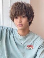 《Agu hair》ほぐれ質感タイトめマッシュ