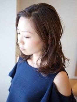 ヘア サロン リュース(hair salon Ljus)の写真/[ICEA認証オーガニック★VillaLodola取扱い店]ナチュラル志向の女性たちが、ずっと探し求めていたサロン♪