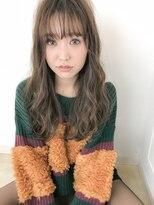 ラフィネ(raffine)モテ髪シースルーバングふわふわパーマで☆raffine中村大輔