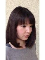 ヘアーデザインロアール(HairDesign LOIRE)ストレートボブ