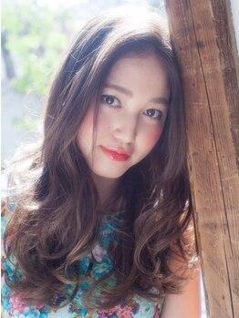 アンジェ 松本島内店(Ange)の写真/【カット+カラー¥4500】毎月のお手入れはプチプラが嬉しい!毎月ヘアースタイルを楽しみたい学生さんにも◎
