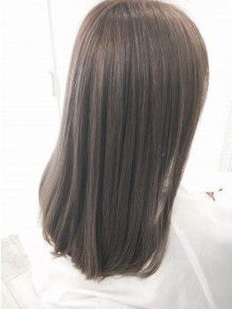 フューズ 祖師ヶ谷大蔵店(Fuse)の写真/『Fuse』のイルミナカラーはキューティクルのダメージを配慮し 、外国人風の髪色を表現☆