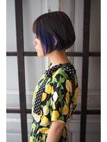 リタへアーズ(RITA Hairs)[RITA Hairs]Wカラーx前下がりボブxインナーカラー♪お客様style