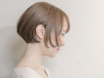 ルーシー ヘアデザインワークス(Lucy Hair Design Works)の写真/シルエット重視のショートヘアにしたい方必見◇技術講師も務める実力派オーナーによる絶品カットがすごい!