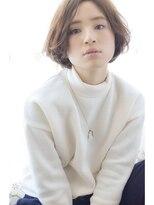キートスバイガーランド (Kiitos by Garland)[Kiitos/吉祥寺]センターパート☆大人ニュアンスボブ ノームコア