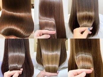 クィーンズガーデンバイケーツーギンザ(QUEEN'S GARDEN by K two GINZA)の写真/オッジィオット/オージュア/サイエンスアクアの髪質改善トリートメントで潤い溢れる美髪に[東銀座/有楽町]