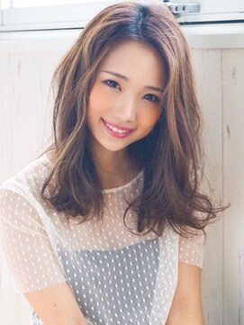 アグ ヘアー ピリカ 千歳店(Agu hair pirca)《Agu hair》ゆるふわエフォートレスミディ