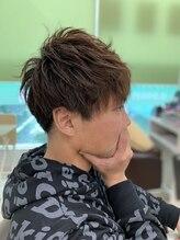 マシェリーシュシュ(hair&care ma cherie chou chou)束感×ツーブロック