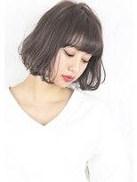 ヘアサロンガリカアオヤマ(hair salon Gallica aoyama)☆ グレージュ & 毛束感 ☆ ミニマムボブ ♪