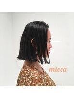 ミッカ(micca)【micca下北沢】切りっぱなしブラントボブ☆大人グランジ