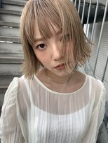 ヌル ヘア デザイン(nullus hair desigh) honey beige