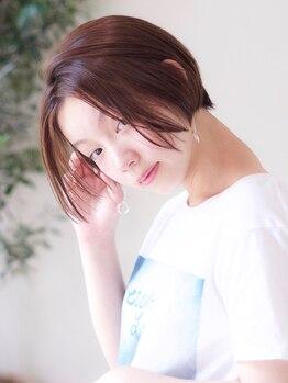 ホリデイズ ケアアンドスパ(HOLIDAYS)の写真/《HOLIDAYS 練馬・豊島園》ツルツルの指通りと質感…短時間で髪の芯まで潤いたっぷりツヤ美髪に◇゜。