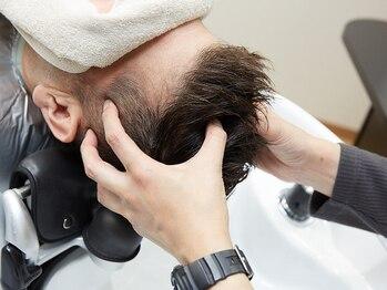 ヘアーサロン ミウラ(hair salon miura)の写真/【ヘッドスパのみOK】メンズに人気!癒し×頭皮ケア♪毛穴汚れをすっきり落として抜け毛予防にも◎