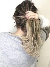 ヘアーサロン ソルト(hair salon SALT)バレイヤージュスタイル