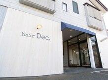 ヘアーディック(hair Dec.)の雰囲気(お店の目の前に無料駐車場完備!!)